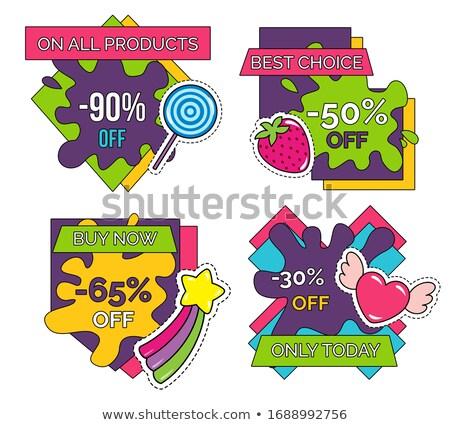 30 procent redukcja cena sprzedaży banner Zdjęcia stock © robuart