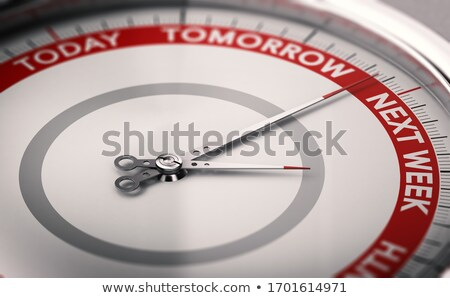 Procrastination concept. To postpone a date. Stock photo © olivier_le_moal