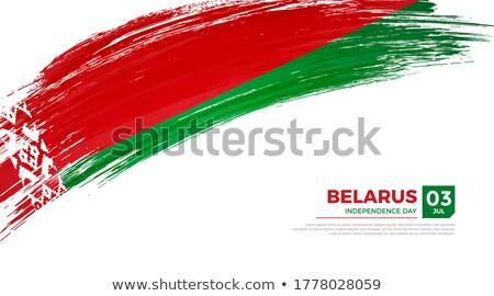 belarus grunge flag stock photo © hypnocreative