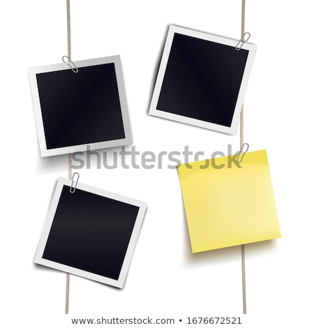 Memo stick illustratie kantoor papier Stockfoto © jamdesign
