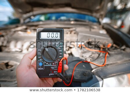 Man preparing voltmeter Stock photo © photography33