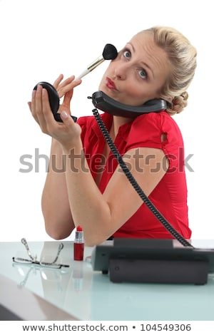 Receptionist with blusher Stock photo © photography33