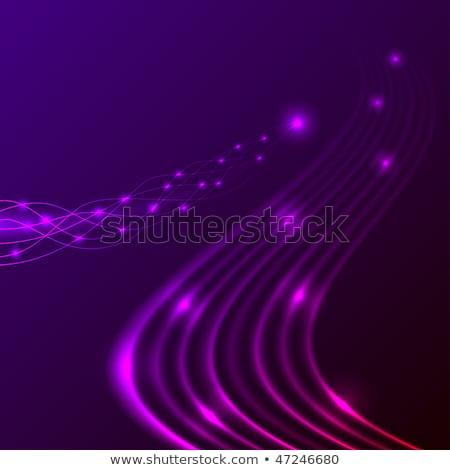 Abstract energie stream horizontaal eps10 bestand Stockfoto © tuulijumala