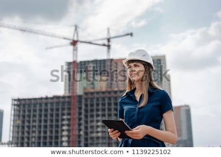 Foreman and woman architect Stock photo © photography33