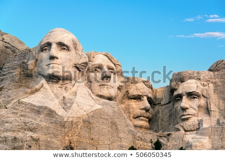Mount Rushmore monument in South Dakota Stock photo © AndreyKr
