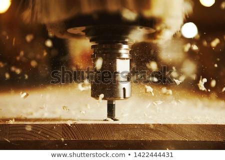 Stock fotó: Bit · vág · felfelé · nő · tart · torok