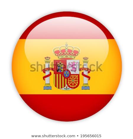 flag of Spain in badge shape  Stock photo © experimental