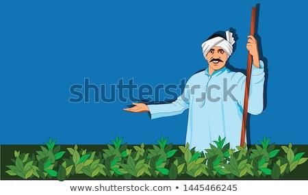 индийской человека старые лице Сток-фото © ziprashantzi