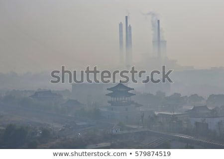 Pollution in China Stock photo © kentoh