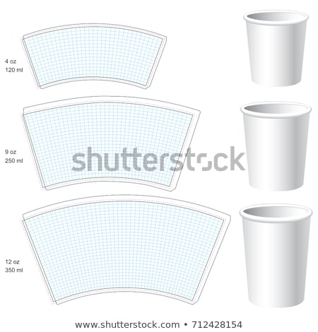 Cup Template Stock photo © UPimages