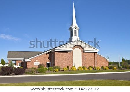 Church in Neighborhood Stock photo © cteconsulting