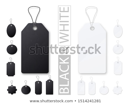 Hang Tag Variety Icon Set Stock photo © cteconsulting