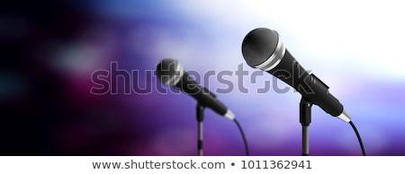 iki · yalıtılmış · beyaz · ses · teknoloji · arka · plan - stok fotoğraf © alekleks