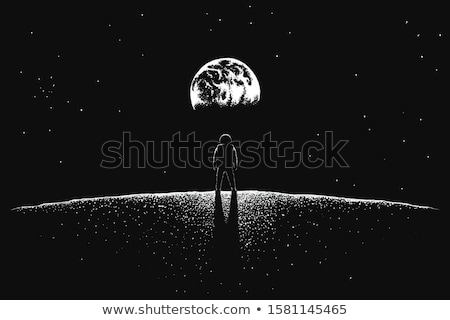 Moon Voyage Stock photo © radivoje
