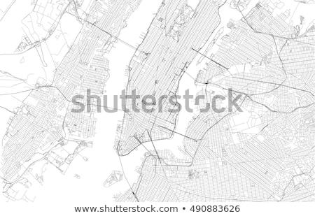 Map of New York  Stock photo © michaklootwijk