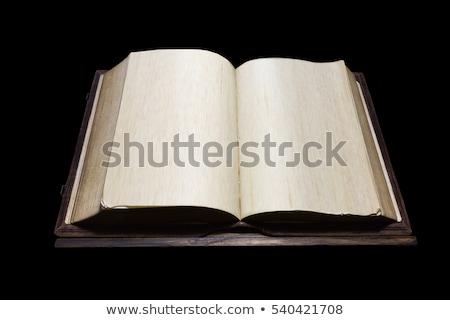 古い 祈り 図書 古代 文字 ワックス ストックフォト © kalozzolak