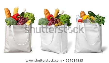 verde · bolsa · vector · bolsa · de · la · compra · aislado - foto stock © istanbul2009