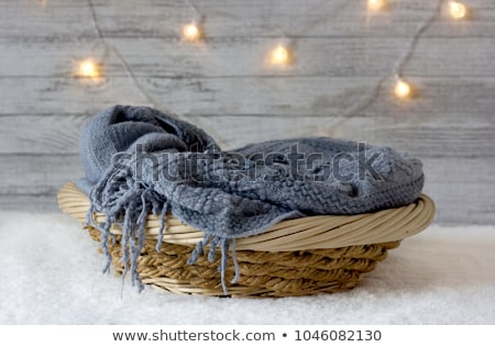 baby in the basket stock photo © adrenalina