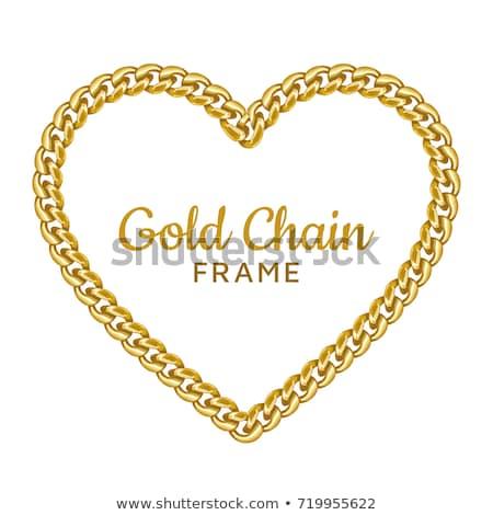 Heart Shaped Chain Stock photo © timurock