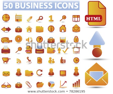 Unlock Red Vector Icon Button Stock photo © rizwanali3d