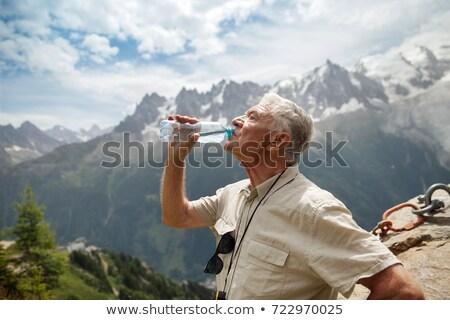 Drinking water in France Stock photo © Hofmeester