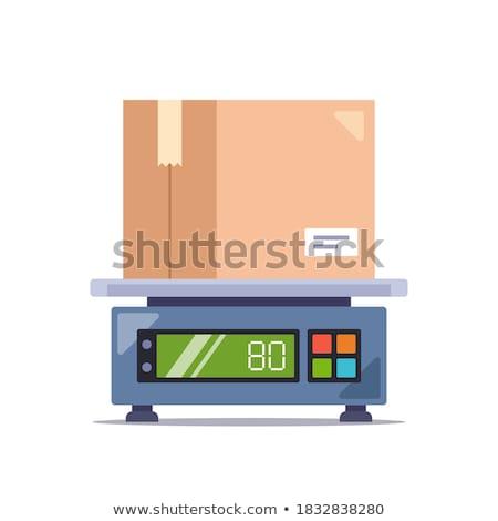 electronic scales Stock photo © mayboro1964