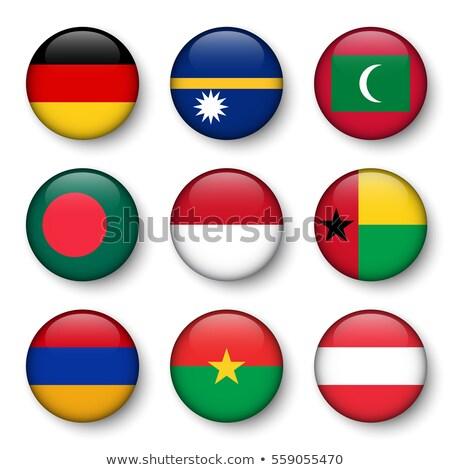 Германия Буркина- флагами головоломки изолированный белый Сток-фото © Istanbul2009