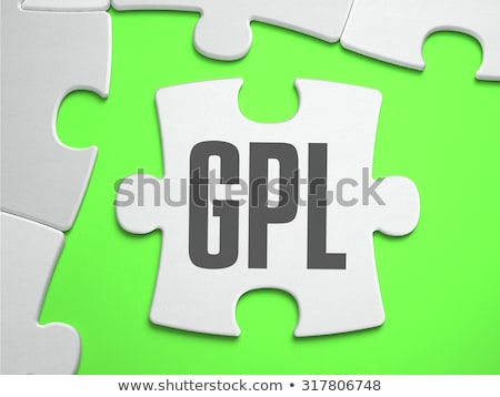 GPL - Jigsaw Puzzle with Missing Pieces. Stock photo © tashatuvango