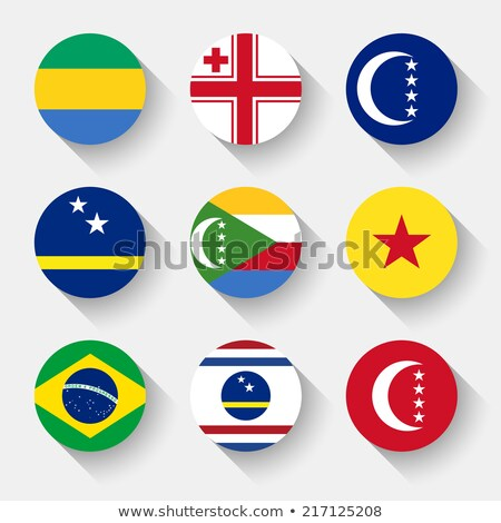 brazil and curacao flags stock photo © istanbul2009