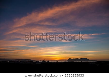 Evening sky with clouds Stock photo © cherezoff