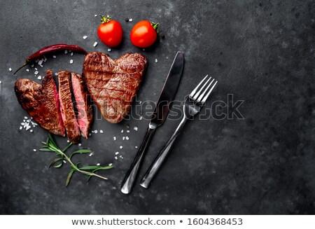 Steak Dinner Symbol Stock photo © Lightsource