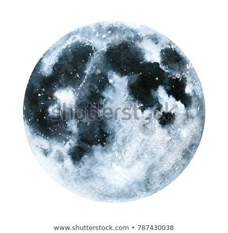 A planet in gray color Stock photo © bluering