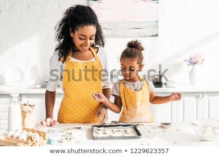 кухне · фартук · Ингредиенты · продовольствие · шоколадом - Сток-фото © goir