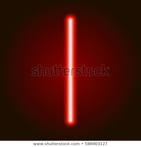 neon red light sign stock photo © klss