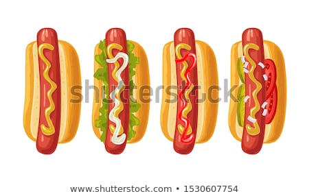 Different types of fastfood Stock photo © bluering