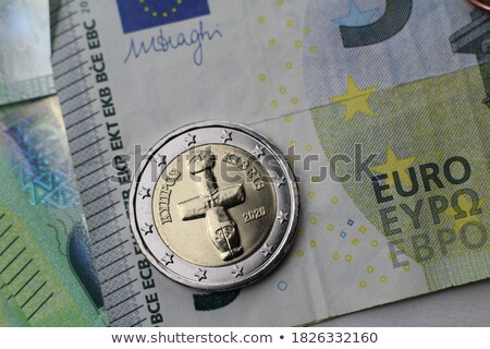 Cypriot euro coin. Business concept. Macro Stock photo © Kirill_M