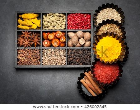 indian masala box stock photo © sumners