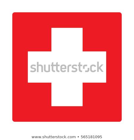 Eerste hulp symbool ontwerp geïsoleerd witte medische Stockfoto © WaD
