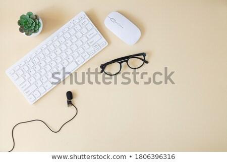 paragraf · ikon · klavye · bilgisayar · klavye · 3d · illustration - stok fotoğraf © oakozhan