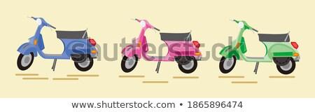 クルーザー · オートバイ · クリップアート · 画像 · スポーツ · 自転車 - ストックフォト © bluering