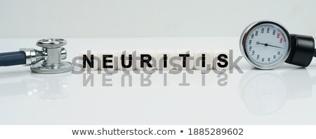 Neuritis. Medical Concept. Stock photo © tashatuvango