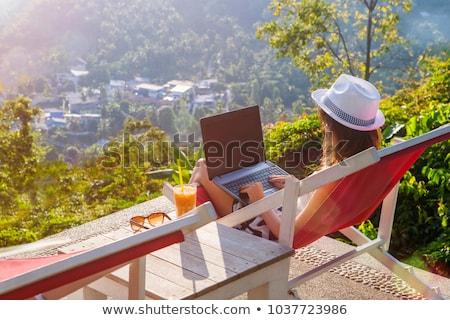 laptop screen with dream job concept stock photo © tashatuvango