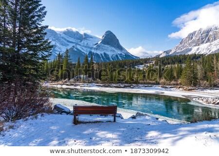 Pine River in scenic Alberta Stock photo © pictureguy