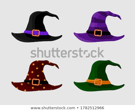 Scary halloween hat. Witch accessory Stock photo © orensila