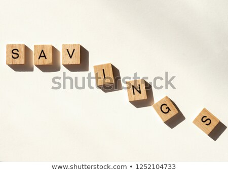 Game tile letters spelling money Stock photo © IS2