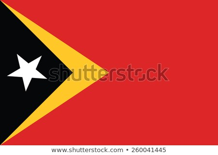 east timor flag, vector illustration Stock photo © butenkow