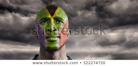 флаг · ЮАР · иллюстрация · сложенный · Мир · путешествия - Сток-фото © wavebreak_media