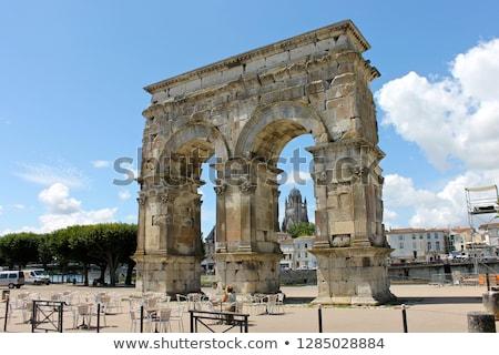 Arch of Germanicus, Saintes, Poitou-Charentes, France Stock photo © phbcz