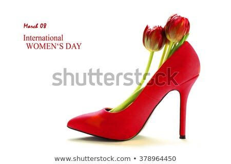 female shoes for womens day Stock photo © adrenalina