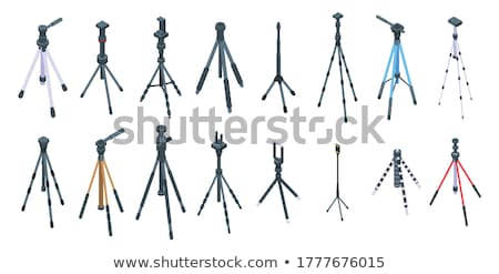 Vector isometric video blogger studio stock photo © tele52